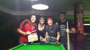 Snooker World Filming